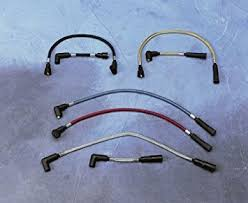amazon com magnum spark plug wires chromite for harley flst fxst