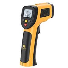 thermometre cuisine laser thermomètre infrarouge sans contact laser de fixkit avec ecran lcd