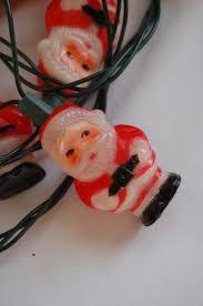 vintage christmas christmas lights santa santa light