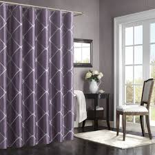 Purple Bathroom Window Curtains by Bombay Garrison 72 Inch X 72 Inch Shower Curtain Purple Bed