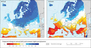 European Weather Map by Mean Precipitation U2014 European Environment Agency