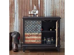 Pulaski Wine Cabinet Pulaski Furniture Accents American Flag Accent Wine Cabinet