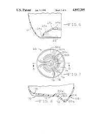 patent us4892205 concentric ribbed preform and bottle made from