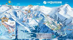 Map Of La Area Maps U0026 Piste Maps Of Les 2 Alpes 2alpesnet Com