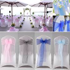 Chair Ties Tulle Chair Bows Promotion Shop For Promotional Tulle Chair Bows