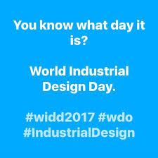 wdo world industrial design day world industrial design day 2017