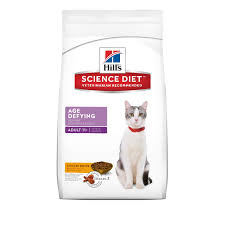 hills science diet dry age defying for 11 years mature senior cat