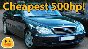 canap cars 5 dirt cheap cars with 500bhp
