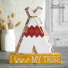 teepee thanksgiving craft and woods
