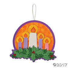 advent wreath kits acetate advent wreath craft kit