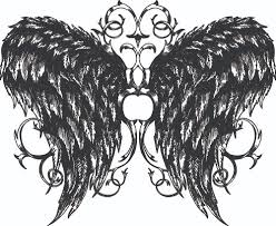 wings vector free draw wings ornaments design vector 03