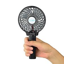 hand held battery fan battery fan mini amazon com