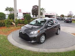 2017 new toyota yaris 5 door l automatic at royal palm toyota