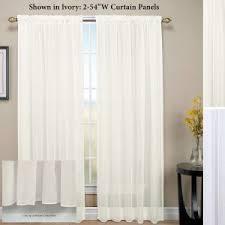 curtains pintuck rod pocket sheer curtain panel design with light