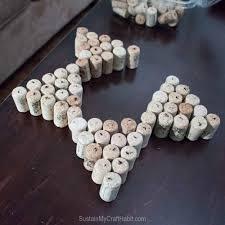 wine cork crafts sparkling star decor sustain my craft habit