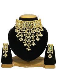 pearls gold necklace sets images Pearl necklace set jmy327 jpg