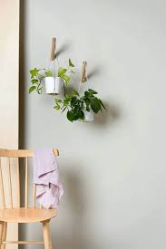 plant wall hangers indoor modern wall planter hanging planter with grey thread plant hanger