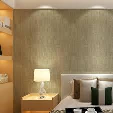 modern plain linen texture wallpaper faux grasscloth wall paper