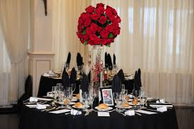 wedding table covers wedding centerpieces with black table covers nytexas