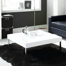 High Gloss Side Table White Gloss Coffee Table Fit For Living Room White High Gloss