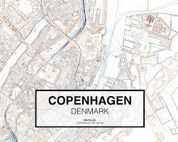 Copenhagen Map Map Copenhagen Denmark Maps And Map Of North Georgia