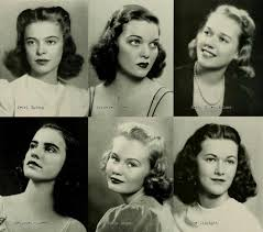 hair style names1920 1940s college girl hairstyles 1941 classic pictures pinterest
