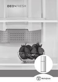 westinghouse refrigerator wtb3400wa user guide manualsonline com