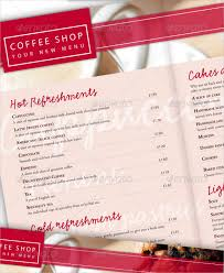 20 coffee menu templates u2013 free sample example format download