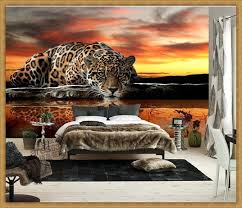 3d Wall Designs Bedroom Animal Bedroom 3d Wall Decor With Wallpaper Designs Wall Colors
