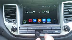 hyundai tucson navigation hyundai tucson android bilstereo navigation