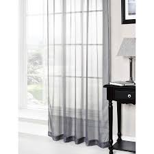 Black And White Valances Lucy Plain Colored Scarf Valances Voile Panel Window Sheer