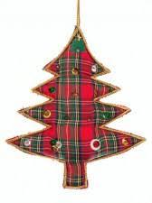 scottish christmas tree decorations tartan xmas tree ornaments