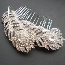 hair comb accessories vintage style rhinestone bridal hair comb vintage wedding hair
