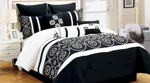 King Comforter Sets Cheap Bedding Set Rare Black And White Bedding Set Full Glamorous