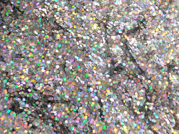 holographic glitter solvent resistant holographic silver glitter medium hexagon