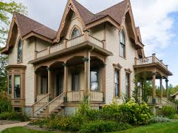 victorian era gothic style in the bradley home in midland mi and