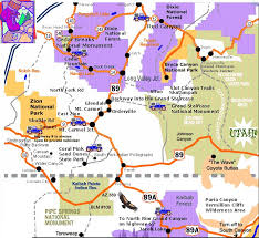 bryce map pdf 28 best zion and canyons images on national parks