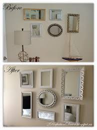 Mirror Collage Wall 2perfection Decor Painted Mirror Collage