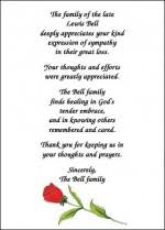 sympathy card wording help with bereavement cards bereavement thank you card wording