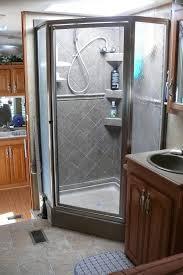 one rv shower stalls interior exterior homie best cer