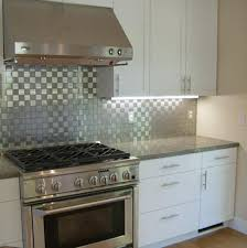 stainless steel backsplashes for kitchens contemporary stainless steel backsplash tile ideas savary homes