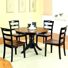 two tone dining table set two tone dining room lifestyle two tone wood finish rectangle dining