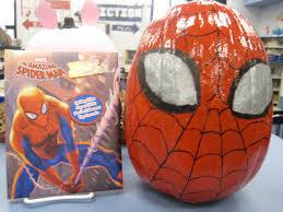 spiderman pumpkins 2012 pinterest spiderman pumpkin contest