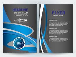 brochure design templates cdr format free download curves
