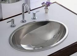 Stainless Steel Bathroom Vanity Cabinet Echsb1716c Bathroom Sinks Commercial Sink Stainless Steel At The