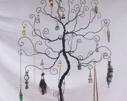 jewelry tree stand etsy