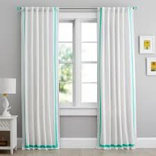 Aqua And Grey Curtains All Curtains Window Coverings Pbteen