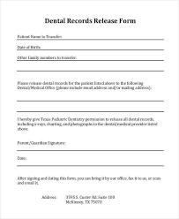 letter of release form medical information release form blank
