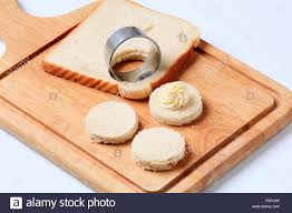bread bases for canapes stock photo royalty free image 91926458