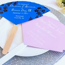 fan shaped wedding programs 9 creative destination wedding program ideas destination wedding